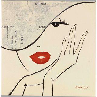 Fabrice de Villeneuve Dream Beauty Limited Edtion Giclee Canvas Art