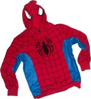 Spider Man Costume    Marvel Hoodie Zipper Fleece