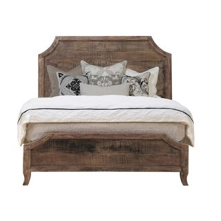 Cosmo Antique Acacia Wood Bed