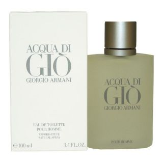 Giorgio Armani Acqua Di Gio Mens 3.4 ounce Eau de Toilette Spray