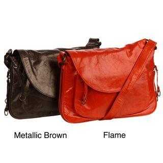 Latico Mitizi Front flap Leather Crossbody Bag