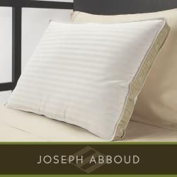 Joseph Abboud Even Support Natural White Feather Pillows (Set of 4
