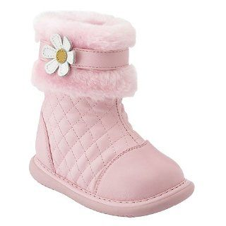 Little Girls Shoes Pink Fur Pansy Boots 3 12 Wee Squeak Shoes