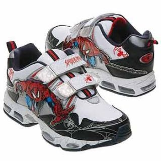 Spider Man Kids Spiderman Velcro Tod/Pre (Red/Black 7.0 M) Shoes