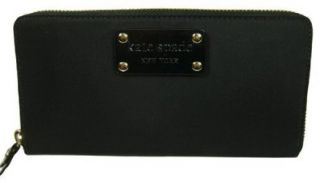 Kate Spade Neda Basic Nylon Black Wallet: Shoes