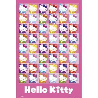 Hello Kitty Pop Art   Poster 61 x 91,5 cm.… Voir la présentation