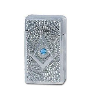 Masonic Lighter Square Compass Bejeweled Sports
