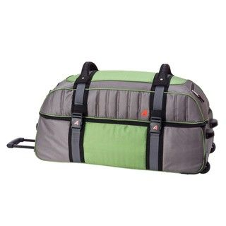 Athalon Grass Green 34 inch Double Decker Wheeled Duffel Bag