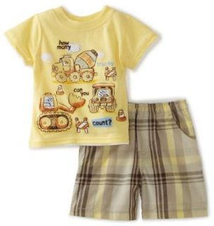"""Kids Headquarters Baby boys Infant 2 Piece """"Counting"""