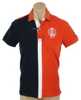 Tommy Hilfiger Mens Custom Fit Big Logo Polo Shirt   XL