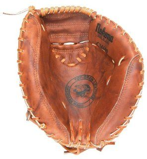 Nokona CM600 W 32 Inch Open Web Walnut Leather Catchers