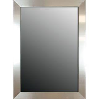 Brightly Polished Silver 46x36 inch Mirror
