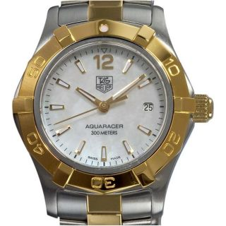 Tag Heuer Aquaracer Ladies Two tone Stainless Steel Watch