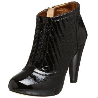 Cynthia Vincent Womens Emily Bootie,Black,7.5 M Shoes