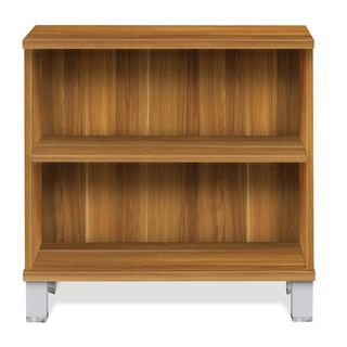 Wood Two Shelf Bookcase