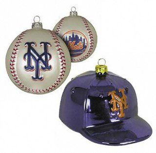 New York Mets Double Ornament Set