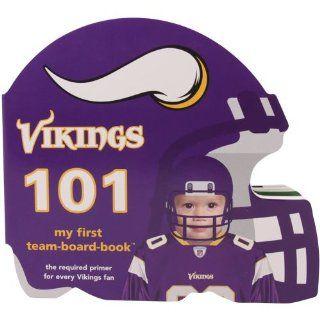 NFL Minnesota Vikings 101 My First Board Book Sports