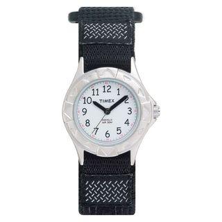 Timex Kids Outdoor Black Fast Wrap Strap Watch