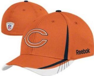 Youth Chicago Bears Orange Draft Flex Fit Cap   4 7