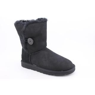 Ugg Australia Womens Bailey Button Regular Suede Boots