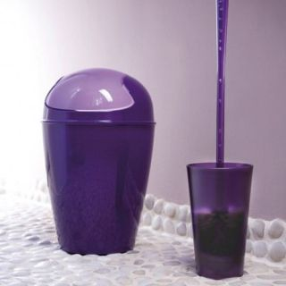 Poubelle DEL XL H 65 CM   Violet   Achat / Vente POUBELLE   CORBEILLE