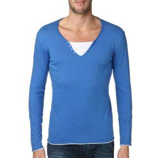 CENTS T Shirt Homme Bleu Bleu   Achat / Vente T SHIRT CENTS T Shirt