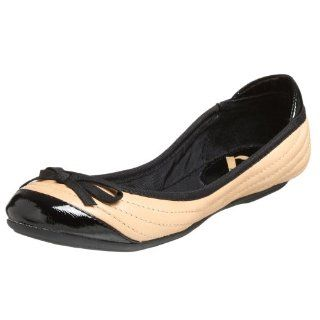 Report Womens Origami Flat,Natural,6 M US Shoes