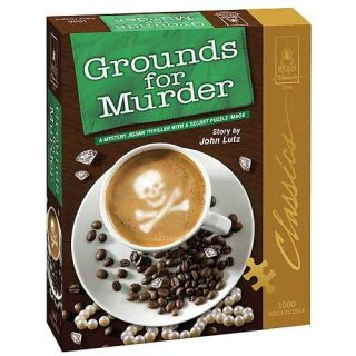 Grounds For Murder Classic Mystery 1000 piece Jigsaw Puzzle