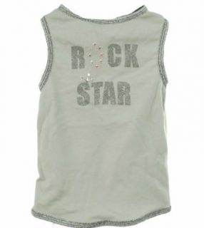 Bark N Roll Rock Star Dog Shirt Male Gray Medium