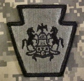 Pennsylvania National Guard ACU Patch   Foliage Green