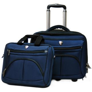 Calpak CEO 17 inch Rolling Laptop Case with Detachable 16 inch Laptop
