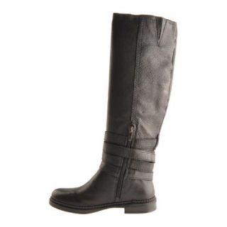 Womens Enzo Angiolini Dame Black Leather