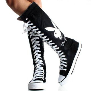 Knee High Lace Up Tennis Shoes