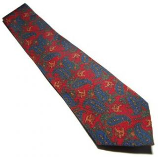 Polo Ralph Lauren Mens Italy Silk Dress Tie Paisely