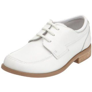 Toddler Little Boys White Oxford Dress Shoes Size 5 2 IM Link Shoes