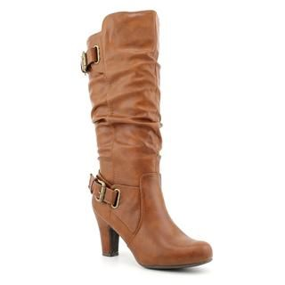 Madden Girl Womens Poche Synthetic Boots