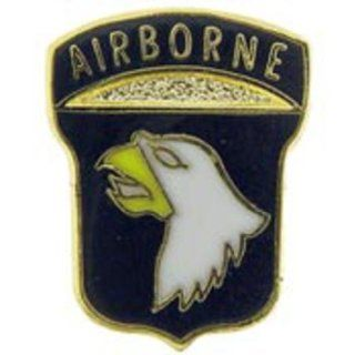 U.S. Army 101st Airborne Division Pin 5/8 Sports