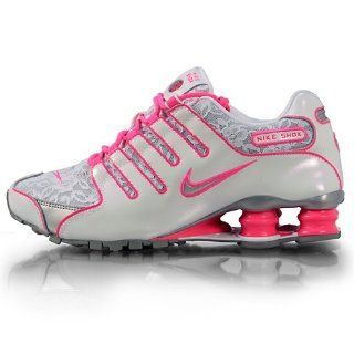 Shox NZ White / Metallic Silver / Pink Flesh LACE 311137 105: Shoes
