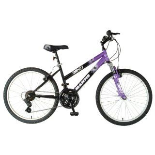 Mantis Raptor Girls 24  Inch Bike, Purple/Black Sports