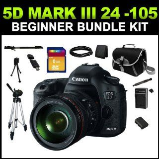 Canon EOS 5D Mark III Digital Camera with Canon 24 105mm f