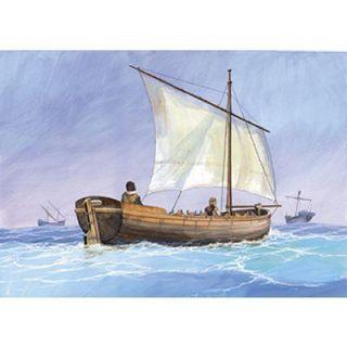Barque médiévale   Achat / Vente MODELE REDUIT MAQUETTE Barque