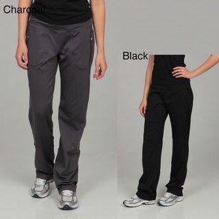 Calvin Klein Performance Womens Drawstring Zipper Detail Athletic