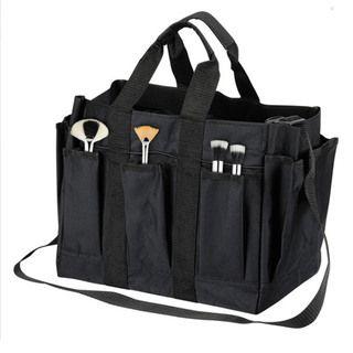 Seya Black Fabric Carry All Makeup Set Bag