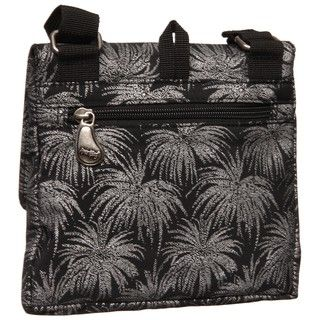 Ameribag Silver Palm Accord Messenger Bag