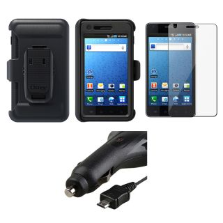 OtterBox Case/ Car Charger/ Protector for Samsung i997 Infuse 4G