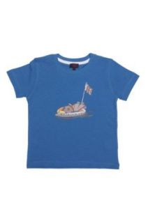 Paul Smith Junior T Shirt SCOOTER, Color Blue, Size 104 Clothing