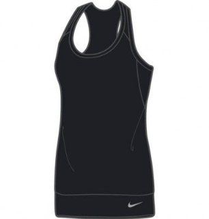 Nike Womens Dri Fit Body Mapping Banded Tank Top Size