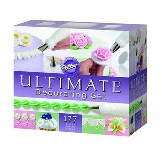 Wilton Ultimate Professional Cake Decorating Caddy (177 Pieces