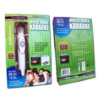 Leadsinger L5 MVK2 54 55 song Karaoke Microphone System