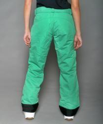 Pulse Womens Kelly Green Rider Snow Pants